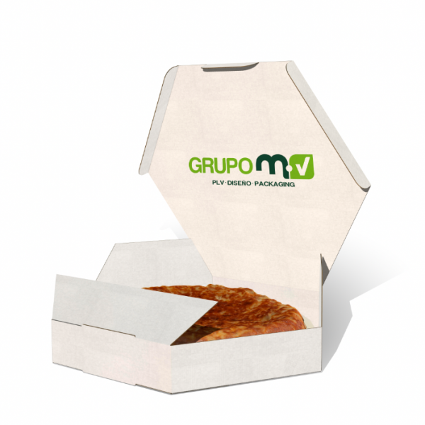 CAJA TORTILLA GRUPO MV PLV PACKAGING