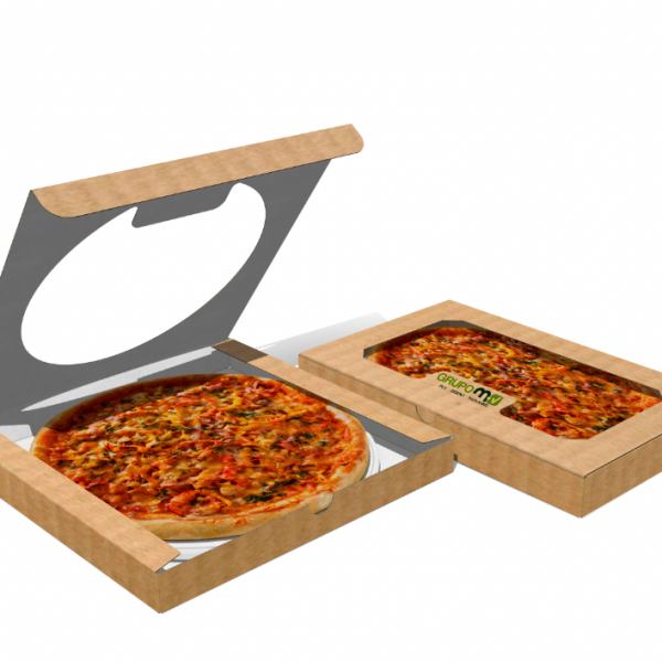 CAJA PIZZA GRUPO MV PLV PACKAGING