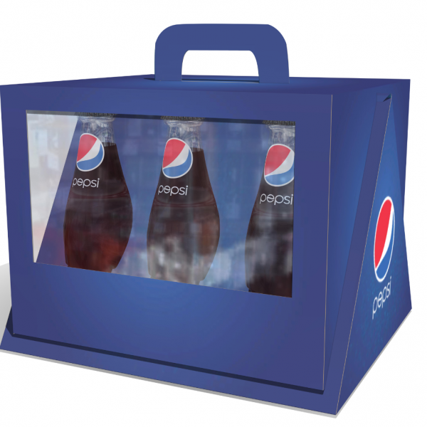 CAJA PREMIUM BOTELLAS GRUPO MV PLV PACKAGING